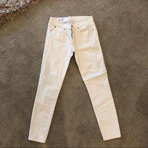 Gap White Jegging Jeans Size 25